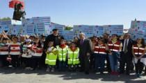 Kırşehir'de trafik haftası kutlanıyor