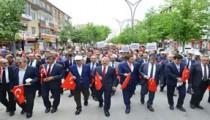 Kırşehir'de 19 Mayıs Atatürk'ü Anma, Gençlik ve Spor Bayramı Coşkusu