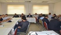 Vali Akın'dan Otobüs Şoförleri İle Toplantı