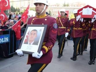 Kırşehirli Şehit Uzman Çavuş Yasin Baran Kırıkkale'de son yolculuğuna uğurlandı