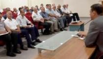 Kaymakam Girgin Köy Muhtarları ile toplantı düzenledi