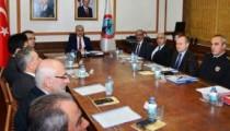 Kırşehir'de STK temsilcileri ve kamu kurumu yöneticileri Vali Akın başkanlığında toplandı