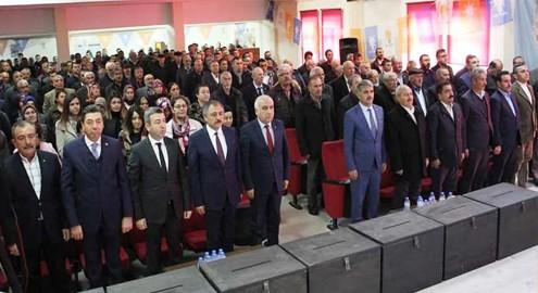 AK Parti Kaman Delegeleri seçildi