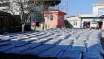 Belediyeye 200 tane Çöp konteyneri hibe edildi