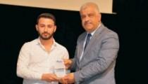 TİGAD Kırşehir Temsilciliğinden Gazetemize 50'nci yıl Gurur ödülü