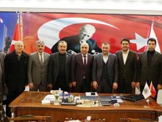 AK Parti Genel Merkez Yerel Yönetimler Başkan Yardımcısı Mustafa Açıkgöz Kırşehir'e geldi