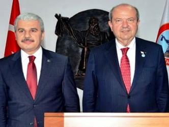 KKTC Başbakanı Ersin Tatar Kırşehir'e geldi