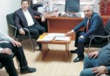 Başkan Çolak ve Milletvekili Kendirli Kaman'ı görüştüler