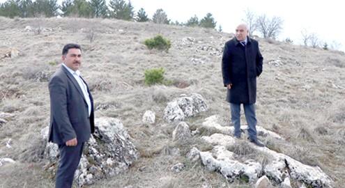 Kaman'da 3500 adet fidan toprak ile buluşuyor