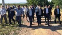 AK Parti İl Yönetiminden Kaman çalışması