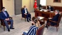 Kırşehir Valisi İbrahim Akın, Mucur ilçesinde incelemede bulundu