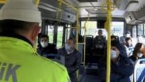 Toplu taşıma araçlarında sınırlama kaldırıldı