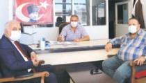 Başkan Çolak'tan gazetemize ziyaret
