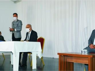 Kaman Belediyesi yeni yılın ilk meclis toplantısı, Belediye Başkanı Necati Çolak başkanlığında yapıldı.