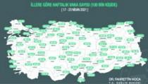 Kırşehir'de  oran  399,52'ye yükseldi