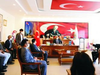 Milletvekili Metin İlhan'dan Kaman Ziyareti