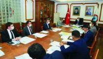 Köy-Des Tahsisat Komisyon Toplantısı Yapıldı