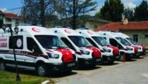 Sağlık Bakanlığı'ndan  Kırşehir'e 5 Yeni Ambulans