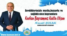 Belediye Başkanı Necati Çolak'tan  Bayram Mesajı