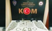 Kırşehir'de 3 bin 103 parça tarihi eser ele geçirildi